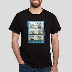 Fish Bowl Escape Attempt Dark T-Shirt