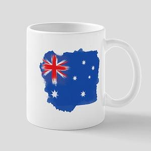 Australia Flag Sydney Mugs