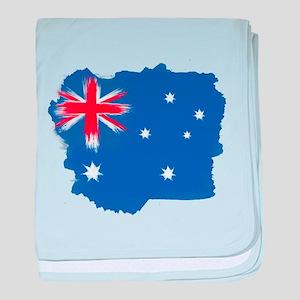 Australia Flag Sydney baby blanket