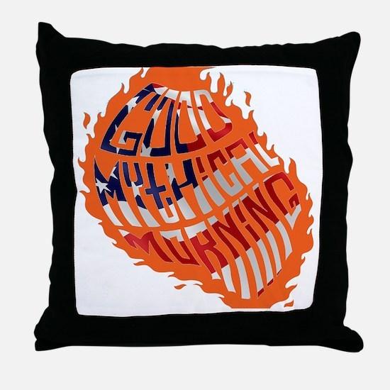 Cute Morning Throw Pillow