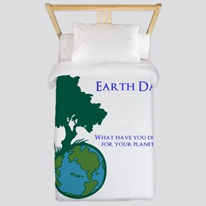 Earth Day Twin Duvet