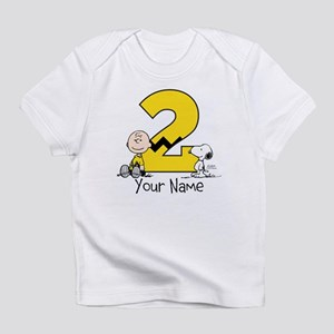 Peanuts Personalized 2nd Birthday T Shirt
