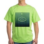207. drop let... Green T-Shirt