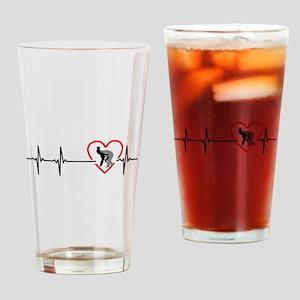 i love krav-maga Drinking Glass