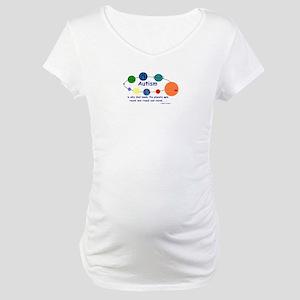 World go round Maternity T-Shirt
