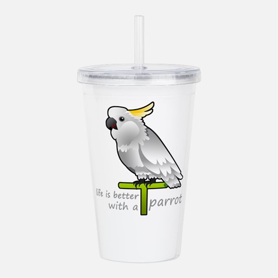 life is better with a Acrylic Double-wall Tumbler