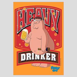 Heavy Drinker Wall Art