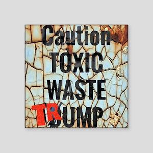 Toxic waste trump Sticker