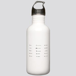 Proofing Marks Stainless Water Bottle 1.0L
