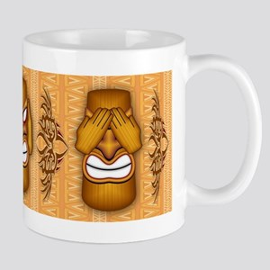 Don't See Don't Hear Don't Speak Totems Mugs