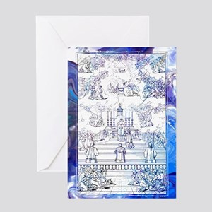 Holy Sacrifice Greeting Cards