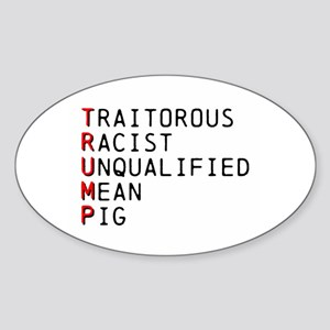 T is for Traitorous Sticker