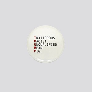 T is for Traitorous Mini Button