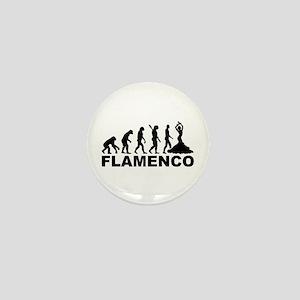 Evolution Flamenco Mini Button