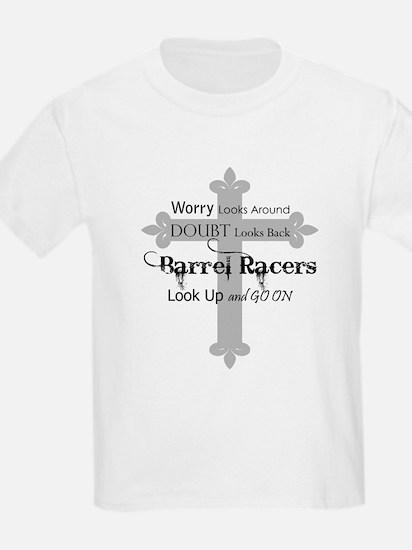 Barrel Racing design Women's Cap Sleeve T-Shirt