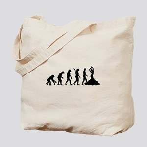 Evolution Flamenco Tote Bag
