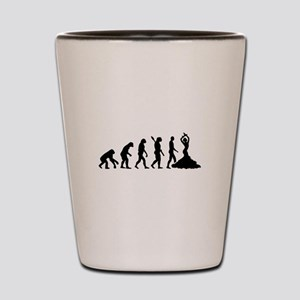 Evolution Flamenco Shot Glass