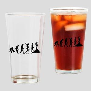 Evolution Flamenco Drinking Glass