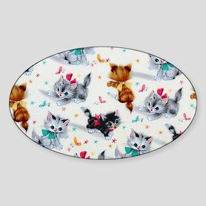 Cute Playful Kitten Sticker