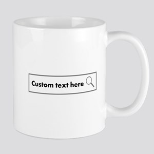 Customize this text for web search design Mugs