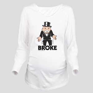Monopoly - Broke Long Sleeve Maternity T-Shirt