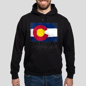Telluride Grunge Flag Sweatshirt