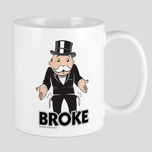 Monopoly - Broke 11 oz Ceramic Mug