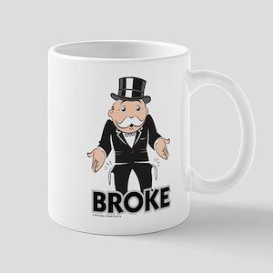 Monopoly - Broke 11 oz Ceramic Mug