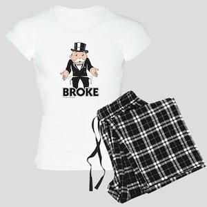 Monopoly - Broke Women's Light Pajamas