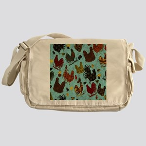 Fun Chickens Messenger Bag