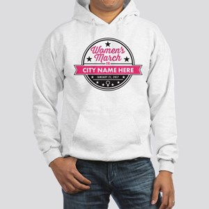 Womens March Personalized Hooded Sweatshirt