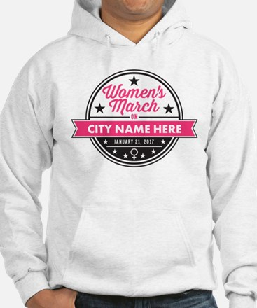 Womens March Personalized Jumper Hoody