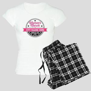 Womens March Personalized Women's Light Pajamas