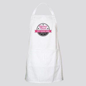 Womens March Personalized Apron