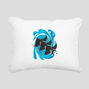 MANTAS Rectangular Canvas Pillow