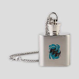 MANTAS Flask Necklace