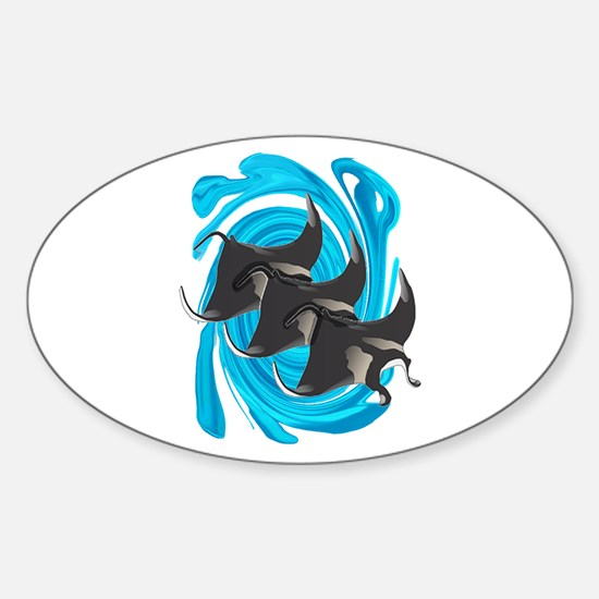 MANTAS Decal