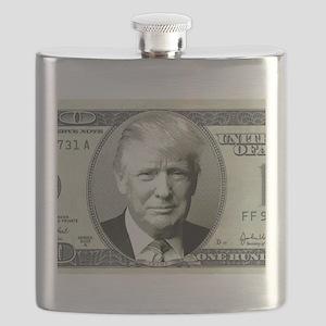 Trump Money Flask