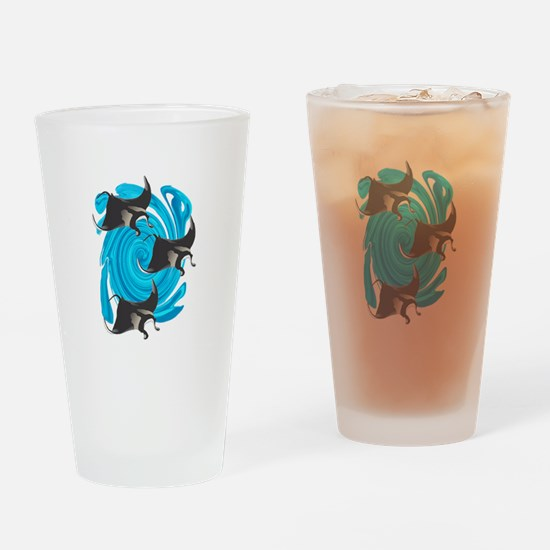 MANTAS Drinking Glass