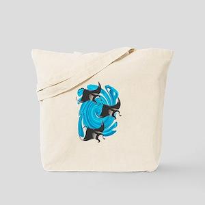 MANTAS Tote Bag