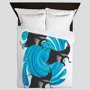 MANTAS Queen Duvet