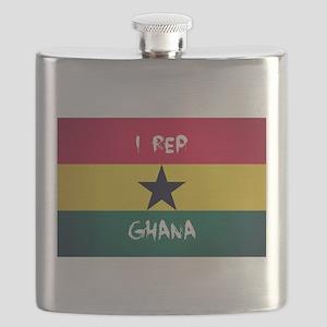 I Rep Ghana Flask