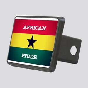 African Pride Ghana Flag Hitch Cover