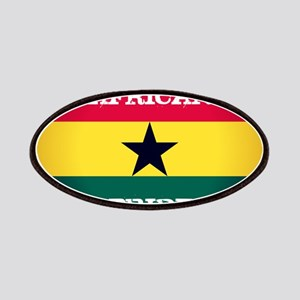 African Pride Ghana Flag Patch