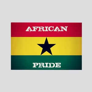 African Pride Ghana Flag Magnets