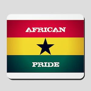 African Pride Ghana Flag Mousepad
