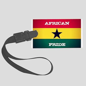 African Pride Ghana Flag Luggage Tag