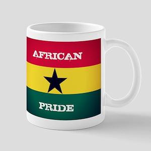 African Pride Ghana Flag Mugs