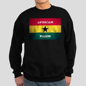 African Pride Ghana Flag Sweatshirt
