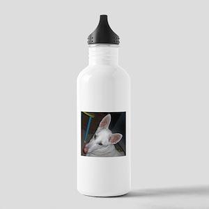 white shepherd Water Bottle